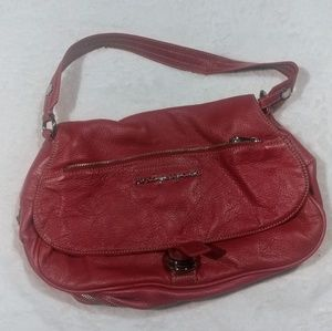 Marc by Marc Jacobs Fuschia Leather Bag